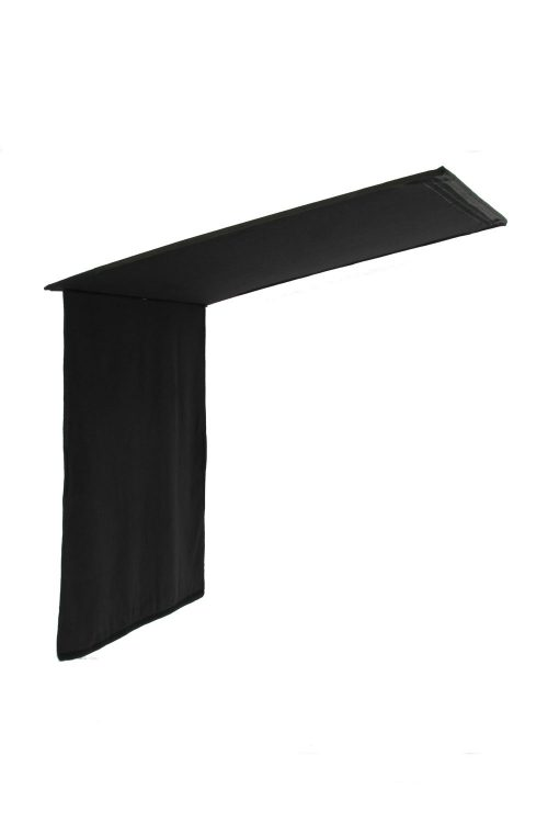 Black Solid Floppy – 120x120cm 48''x48''